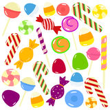 Sweet Candies Vector Set royalty free illustration