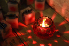 Sweet candle Stock Photography