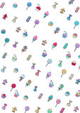 Sweet candy background Royalty Free Stock Photography