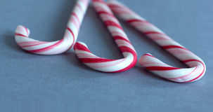 Sweet candy canes. Dessert concept, sweet food and celebration Royalty Free Stock Images