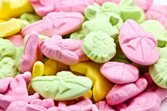 Sweet Candy Mix Stock Photo