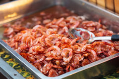 Sweet candy shrimp Royalty Free Stock Photography