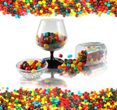 Sweet, candy still life. Still life with candy allsorts Stock Images
