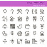 Sweet and Candy Stock Photo