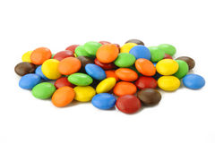 Sweet candy on white Stock Photo
