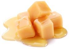 Sweet caramel candies. Royalty Free Stock Photos