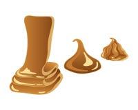 Sweet caramel Stock Photos