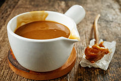 Free Sweet Caramel Sauce Stock Photo - 48546880