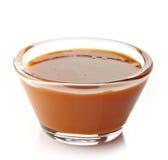 Sweet caramel sauce Stock Image