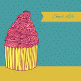 Sweet card Royalty Free Stock Images