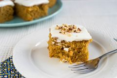 Sweet carrot cake Stock Photo
