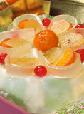 Sweet cassata Royalty Free Stock Photos