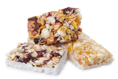 Sweet cereal bar Stock Images