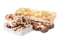 Sweet cereal bar Royalty Free Stock Photos