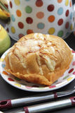 Sweet Cheese Bread. With a sprinkling of sugar on it, very sweet and delicious Royalty Free Stock Photos