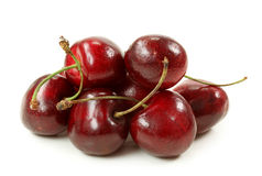 Sweet cherries royalty free stock image