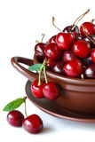 Sweet cherries. Royalty Free Stock Photo