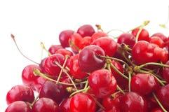 Sweet Cherries. Fresh sweet cherries isolated on white background Royalty Free Stock Photo