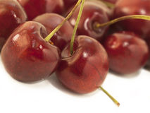 Sweet cherries as a background. close up Royalty Free Stock Photography