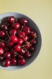 Sweet cherries as a background full frame Royalty Free Stock Photo