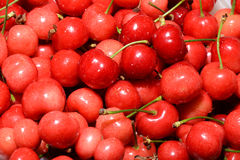 Sweet cherries as a background Royalty Free Stock Photo
