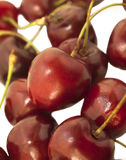 Sweet cherries as a background Stock Photos