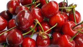 Sweet cherries background Stock Photography