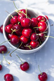 Sweet cherries. Royalty Free Stock Photos