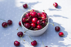 Sweet cherries. Royalty Free Stock Images