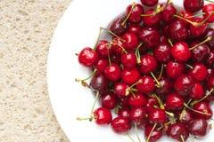 Sweet cherries.Closeup Royalty Free Stock Images