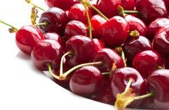 Sweet cherries.Closeup Stock Images