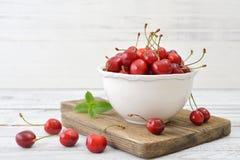 Sweet cherries Stock Image