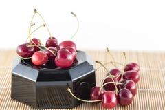 Sweet cherries group Stock Photo