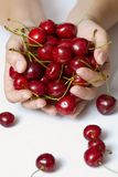 Sweet cherry Stock Images