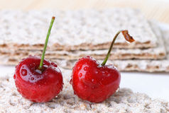 Sweet cherry stock photos