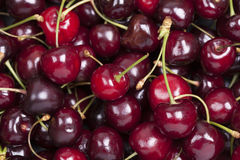 Sweet cherry. Close-up of sweet cherry. Full frame royalty free stock images