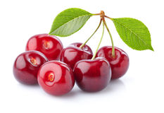 Sweet cherry in closeup Royalty Free Stock Image
