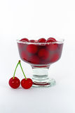 Sweet Cherry Compote Stock Images