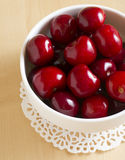 Sweet cherry. Fresh berries for a dessert Royalty Free Stock Photos