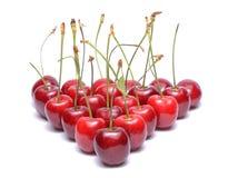 Sweet cherry isolated on white background Stock Photo