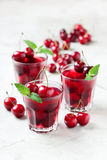 Sweet cherry jelly Royalty Free Stock Photography