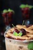 Sweet cherry pie Stock Photo
