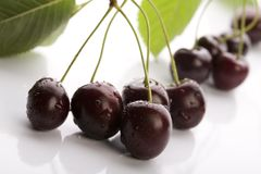 Sweet cherry - sweet fruit Stock Image