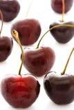 Sweet cherry on the white Royalty Free Stock Photo