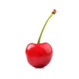 Sweet cherry  on white Royalty Free Stock Photos