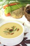 Sweet chestnut soup Royalty Free Stock Photography