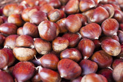 Sweet chestnuts - marron Royalty Free Stock Photography