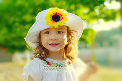 Sweet child smiling Stock Photography