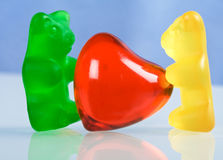 Sweet childish love concept Stock Photography