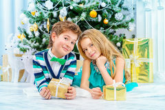 Sweet children Stock Photo